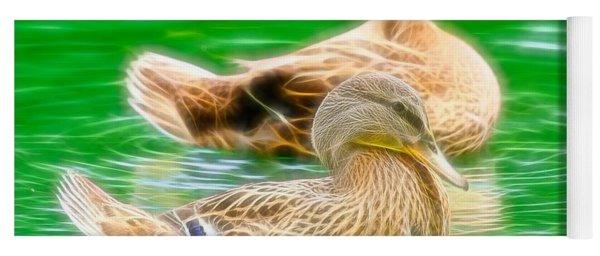 Headless Honey Duck Fibers Yoga Mat