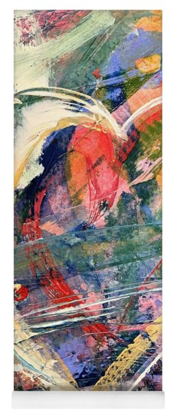 Yoga Mat featuring the painting Heart Full Of Love by Robin Maria Pedrero