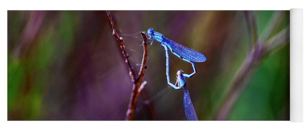 Heart Of Dragonfly Yoga Mat