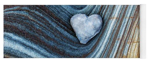 Heart Stone Yoga Mat