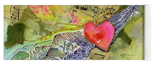 Heart Strings Yoga Mat