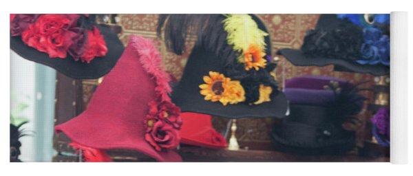 Heavenly Hats Squared Yoga Mat