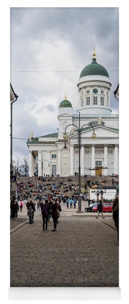 Helsinki Streets Yoga Mat