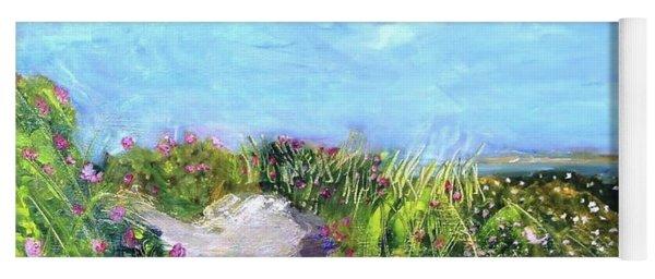 Herring Cove Flowering Dune Yoga Mat