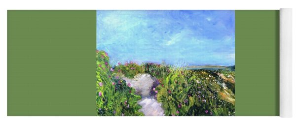Herring Cove Flowering Dune Yoga Mat