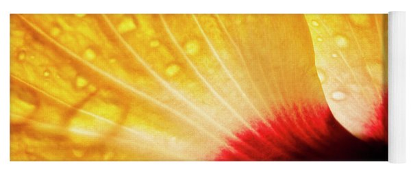 Hibiscus Petals Yoga Mat