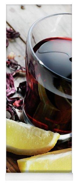 Hibiscus Tea Yoga Mat