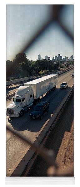 Highway Capture Yoga Mat