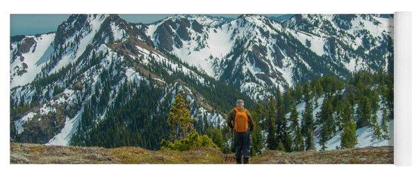 Hiking Toward Heaven Yoga Mat