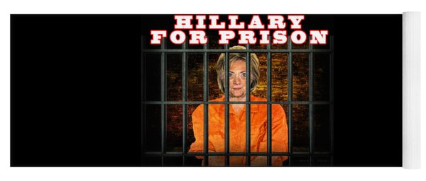 Hillary For Prison Yoga Mat