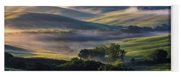 Hilly Tuscany Valley Yoga Mat