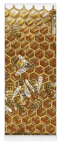 Honey Bees Yoga Mat