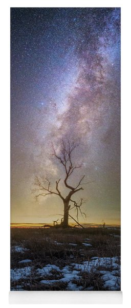 Yoga Mat featuring the photograph Hopeless He Stays  by Aaron J Groen