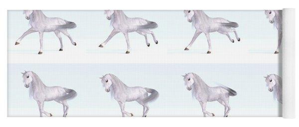 Horse Gallop Sequence Yoga Mat