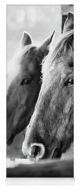 Horse Portrait 3 Yoga Mat