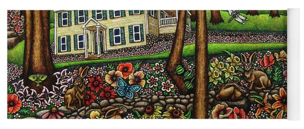 House In The Meadow  Yoga Mat