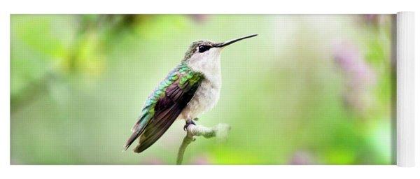 Hummingbird Charm Yoga Mat