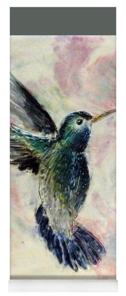 Hummingbird Flight Yoga Mat