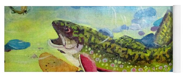 Hungry Trout Yoga Mat