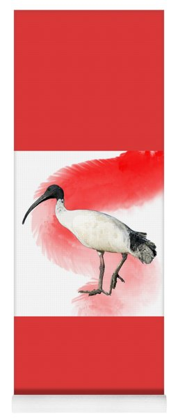 I Is For Ibis Yoga Mat
