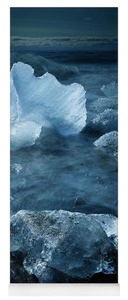 Ice Shells Yoga Mat