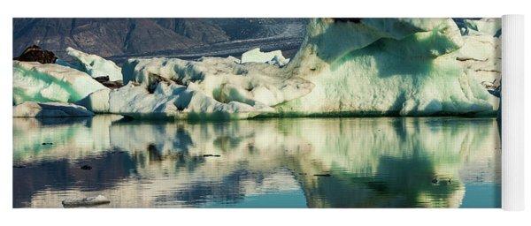 Iceberg, Jokulsarlon Yoga Mat