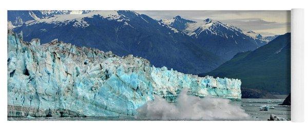 Iceberg Splash Hubbard Glacier Yoga Mat