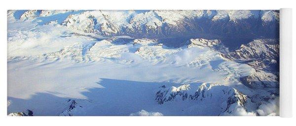 Icebound Mountains Yoga Mat