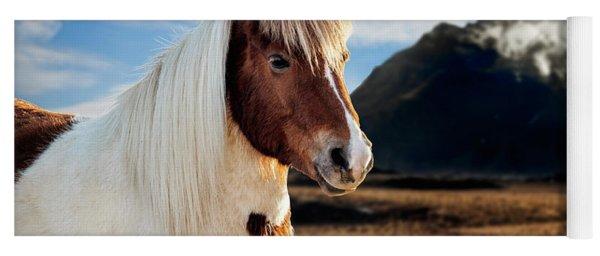 Icelandic Horse Yoga Mat
