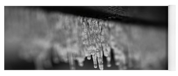 Icy Fence Yoga Mat