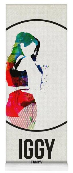 Iggy Azalea Watercolor Yoga Mat