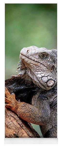 Iguana's Portrait Yoga Mat