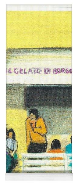 Il Gelato De Borgo Marina Yoga Mat