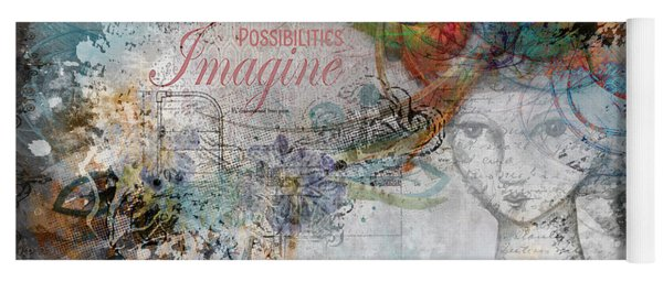 Imagine Possibilities Yoga Mat