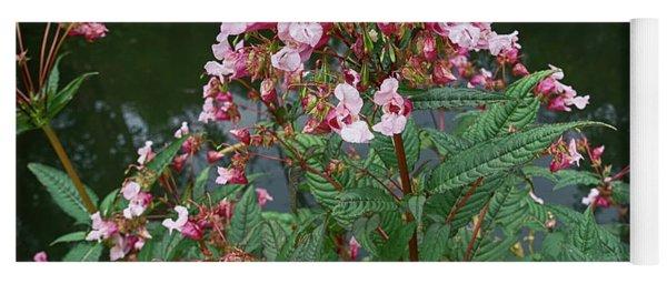 Impatiens Glandulifera, Flowers At Shore Yoga Mat