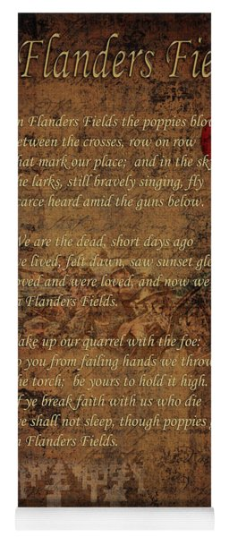 In Flanders Fields 2 Yoga Mat