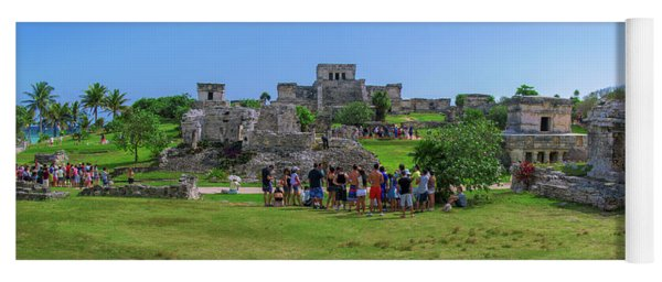 In The Footsteps Of The Maya Yoga Mat