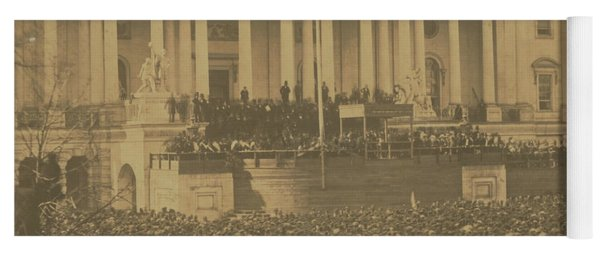 Inauguration Of Abraham Lincoln, March 4, 1861 Yoga Mat