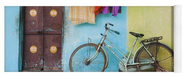 Indian Bicycle Yoga Mat