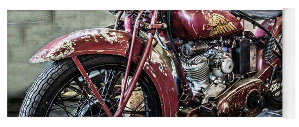 Indian Motorcycle Yoga Mat