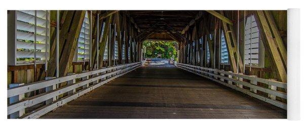 Inside The Belknap Bridge Yoga Mat