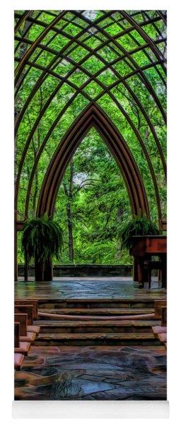 Inside The Chapel Yoga Mat