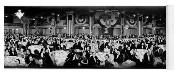 Installation Banquet, Argo Lodge, Bnai Yoga Mat