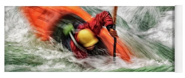 Yoga Mat featuring the photograph Into The Drink by Brad Allen Fine Art