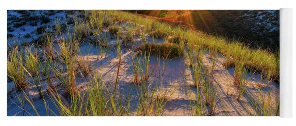Into The Sun, Crane Beach Yoga Mat