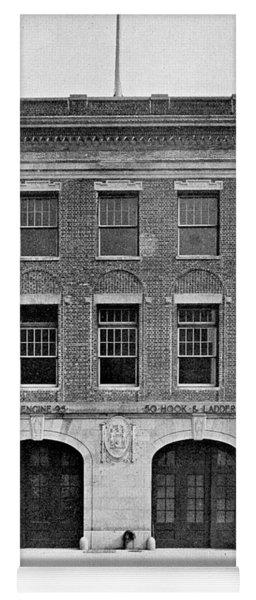 Inwood Firehouse 1918 Yoga Mat