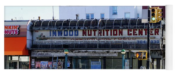 Inwood Nutrition Center Yoga Mat
