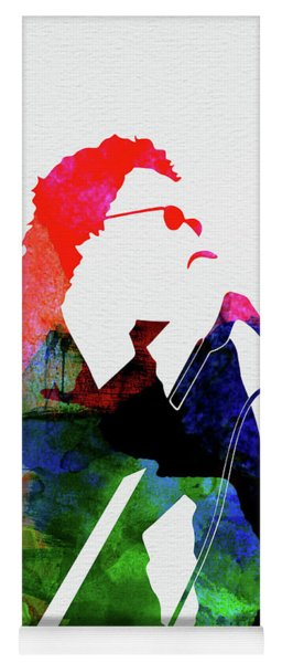 Inxs Watercolor Yoga Mat