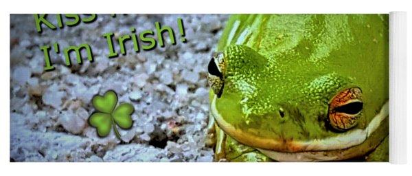 Irish Frog Yoga Mat