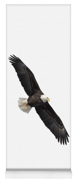 Isolated Bald Eagle 2019-1 Yoga Mat